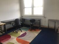 office available 5 mins from city centre. Office space to rent within photography studio