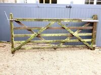 Top Quality Wooden Five bar gate for drive with all hardware
