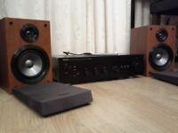 DENON AMP + SONY SPEAKERS