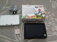Nintendo 3DS XL with Super Mario 3D Land, Ocarina of Time 3D and Mains Charger *Price Reduced*