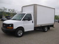 2014 GMC Savana AUTO-AIR-CUBE VAN