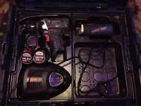 Bosch impact driver and torch set in case