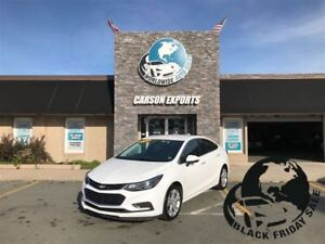 2017 Chevrolet Cruze LOOK PREMIER EDITION! $124 BI-WEEKLY+TAX!
