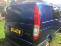 Mercedes Vito 111 Compact Camper/Day Van