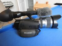 Sony NEX VG20 Professional Interchangeable Lens Camcorder