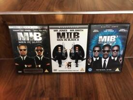 Men In Black complete DVD collection, x3