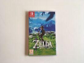 Nintendo switch - Zelda Breath of the world game, brand new