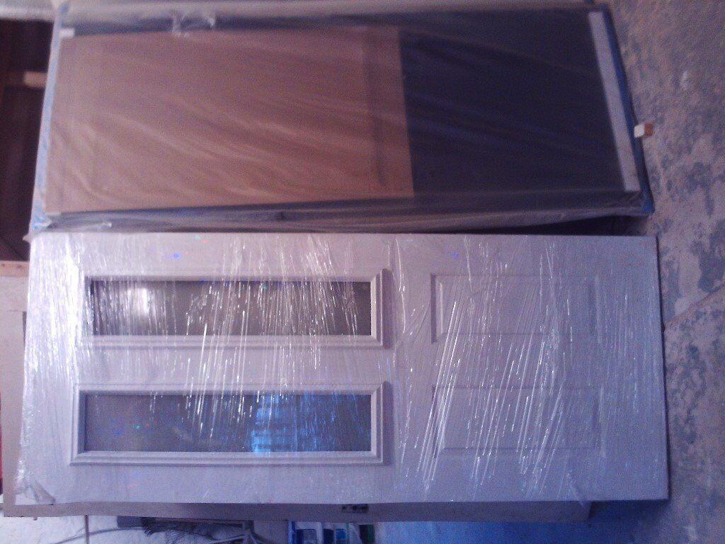 3 x Brand new composite doors Front doors still in packets.