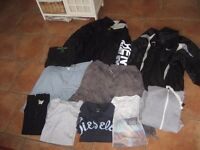 JOB LOT OF MENS CLOTHES SIZE L