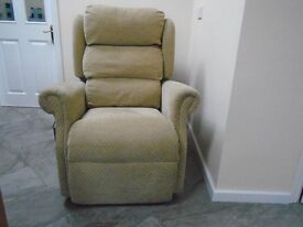 reclining chair , electric