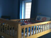 Child's Captains Bed and furniture (including mattress) - excellent condition