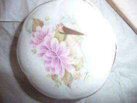 Trinket Box - Vintage Staffordshire Royal fine bone china