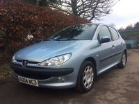 **2004 Peugeot 206 1.4 Fever SILVER 5 DOOR**IMMACULATE CONDITION**