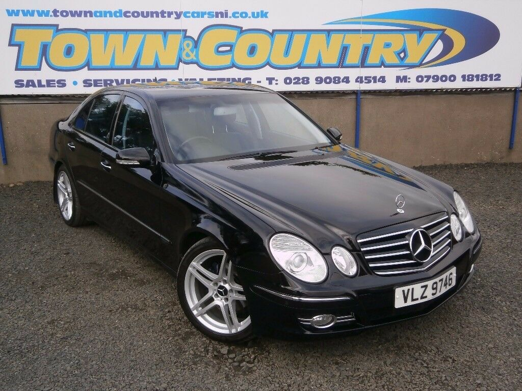 2008 mercedes e class e320 cdi avantgarde auto. Black Bedroom Furniture Sets. Home Design Ideas