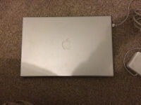 Apple MacBook pro. 10.6.8. 17 inch. Snow leopard. Not working selling as spares/repairs