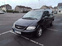 Chrysler Grand Voyager 7 Seat LHD Left Hand Drive