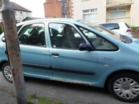 Spare or repair mot expires 25th may 2018 car still runs and starts first time