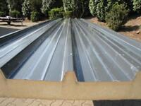 Iso-/Thermo-/Sandwichplatten Dach 80er-Kern RAL 7016 zu verkaufen Nordrhein-Westfalen - Hünxe Vorschau