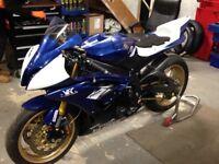 Yamaha R6 13s racebike/trackbike