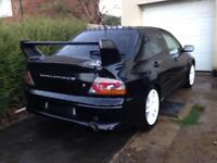 Evo 7 boot and spoiler and rear bumper