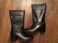 Women's Leather Boots - Unworn