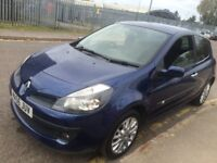 RENAULT CLIO 1.4 3 DOOR 2006 (56) NEW SERVICE AND TIMING BELT CHANGE DRIVES WELL HPI CLEAR