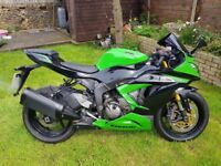 2013 Kawasaki ZX636 EDF. ***SPARES OR REPAIRS***