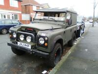 LAND ROVER SERIES 3 1975 200tdi TAX EXEMPT WITH MATCHING TRAILER