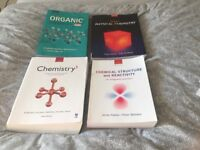 Degree Chemistry text books for sale