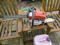 Chainsaw very good condition 18inch bar good runner 58cc £50