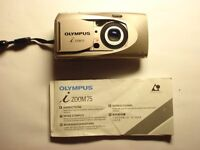 Olympus i zoom camera in good condition. Weatherproof.