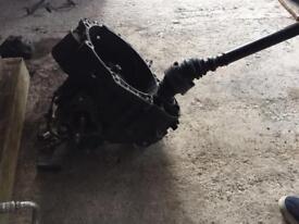 Pd130/150 mk4 golf 6 speed gearbox