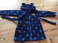 Kids Mickey Mouse Dressing Gown