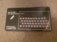 Sinclair ZX Spectrum 48k in great condition for an old guy with original manuals