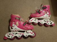 Hello Kitty roller blades size 1-2
