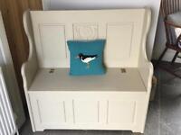 Stunning Pine Monks Bench/Storage Seat