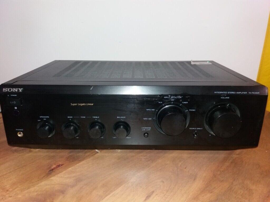 Sony TA-FE330R Fine Amplifier, 2 x 70 Watt Din / 4 Ohm | in London | Gumtree