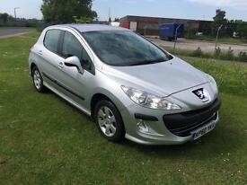 60 REG PEUGEOT 308 1.6 S 5 DOORS- AUTOMATIC- 12 MONTHS MOT TEST- 2 KEYS- NEW TIMING CHAIN