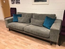 3 Seater Sofa & Sunggler Chair