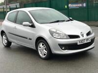 2007 RENAULT CLIO 1.2 * PETROL * LADY OWNER * LOW MILES *ALLOYS *LONG MOT - NO ADV * PX * DELIVERY *