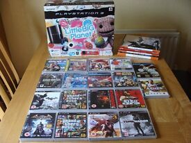 Play Station 3 plus games