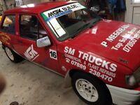 1.4 Vauxhall Nova Grp A Rally Car