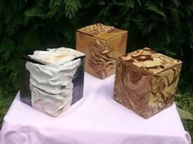 Original ceramic boxes