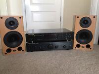 CD player-Amplifier-Speakers