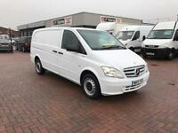 March 2013 Mercedes Vito 113cdi lwb blueefficiency £9995 j&ft&v