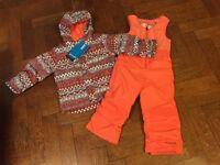 Girls' Ski Jacket & Salopettes Age 4 *Brand New*