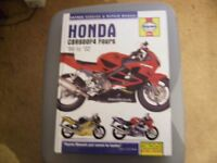 haynes repair manual honda cbr 600f4 fours 99 to 02