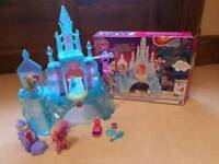 My Little Pony Crystal Empire Castle - boxed as new with extras