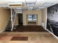 Suspended ceiling tiles and lighting