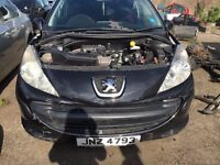 2007 peugeot 207, 1.4 petrol, breaking for parts only, all parts available